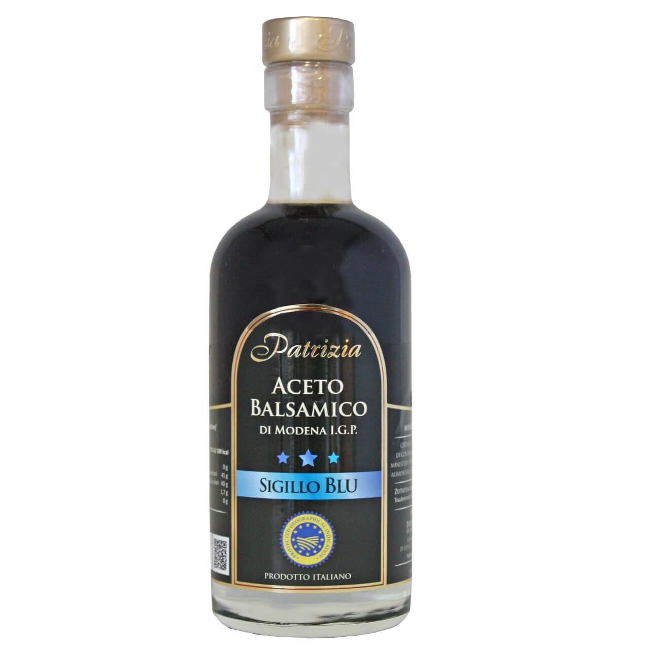 Aceto Balsamico - sigillo blu
