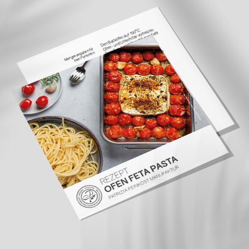 Rezeptkarte - Ofen Feta Pasta
